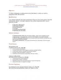 Restaurant Server Resume Template Server Duties For Resume Restaurant Waiter Resume Nursing