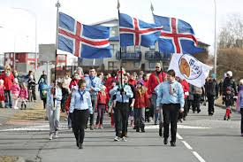 icelanders celebrate the unique day of