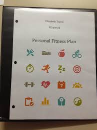 online pe class high school creating personal fitness plan lesson plan for high school