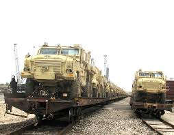mrap first mraps arrive in egypt