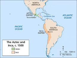 aztec mayan inca map the aztecs were the dominant empire in mesoamerica and the incas
