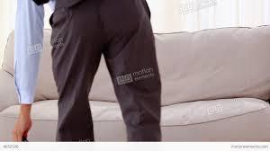 Smiling Businessman Lying On Sofa Stock Video Footage - Lying sofa 2