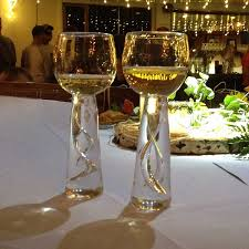 wedding goblets robert burch glass wedding goblet robert burch glass