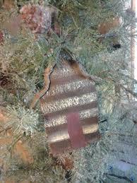 log cabin ornaments comfort tin cabin ornament