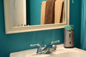 Light Turquoise Paint by Blue White Bathroom Decoration Using Paint Turquoise Bathroom Wall