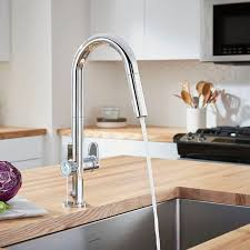 kitchen faucet touch beale measurefill touch kitchen faucet american standard