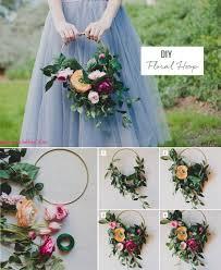 bouquet diy diy silk flower hoop bouquet boutonnieres flower and ring