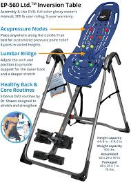 inversion table how to use the benefits of inversion and review of the teeter hang ups