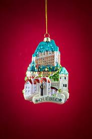 château frontenac glass ornament boutique de noël