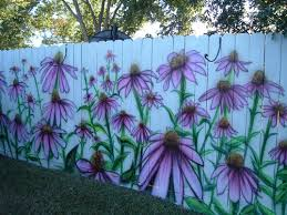 Fence Decorations Decorate Your Fence Com Purple Coneflower Project