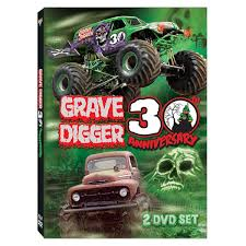 wheels monster jam grave digger truck digger 30th anniversary dvd box set