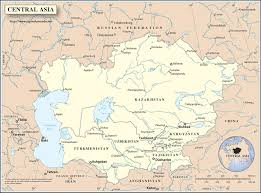 Central Asia Map by Central Asia Map World Map