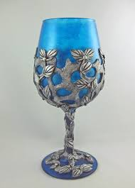 Unusual Wine Glasses by Kismet Clay Designs May 2016