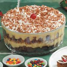 gingerbread trifle recipe taste of home