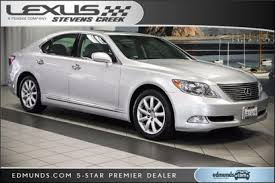 how much does a lexus ls 460 cost used 2008 lexus ls 460 for sale pricing features edmunds