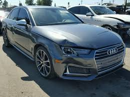 audi usa parts salvage audi cars for sale and auction