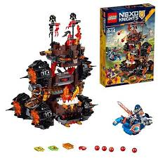 lego siege social lego nexo knights general magmar siege machine of doom 8556438 hsn