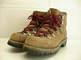 s vasque boots vtg 70 s vasque usa made waffle stomper mountaineering boots mens