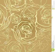 Golden Roses Seamless Golden Roses Stock Photography Image 36551142