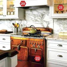 copper colored appliances modern vintage appliances a copper colored chambers range adds