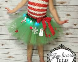 light up christmas skirt christmas tree decorated tutu with lights by lookatmybooties