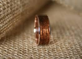 diamond wood rings images Men 39 s wedding band 14k rose gold ring with hawaiian koa jpg