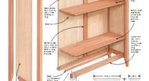 Building Wooden Bookcase by 33 Wood Bookcase Building Plans This Bookshelf Plan Includes