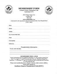 club membership form template eliolera com