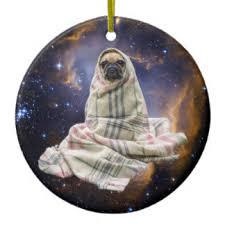 pug ornaments keepsake ornaments zazzle