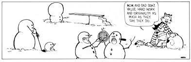 10 calvin and hobbes comic strips involving hilariously morbid