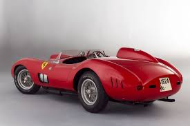 classic ferrari convertible stunning ferrari race car sells for 35 7 million just short of