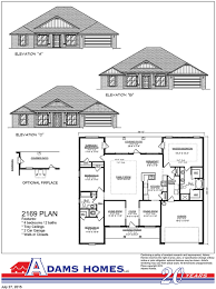 New Homes Floor Plans Iberville Square Adams Homes