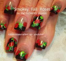 robin moses nail art gargoyle nail art red rose nail art smokey