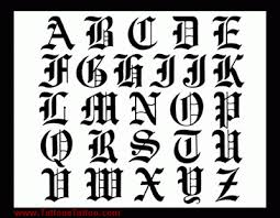 letters letters free designs