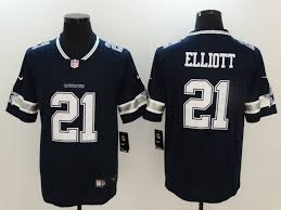 Cowboys Jersey Thanksgiving Nike Cowboys 21 Ezekiel Elliott Navy Vapor Untouchable Player