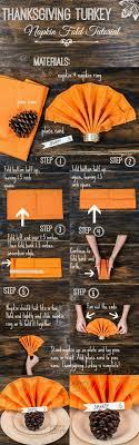 thanksgiving turkey napkin fold tutorial smarty had a