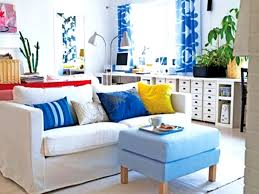 tropical living room set modern house modern home concept with living room furniture sets iikea and white sofa blue cushions benchtable soft