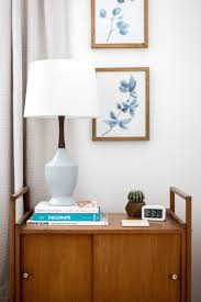 A Frame Interior Design Ideas by Nightstand Exquisite West Elm Mid Century Frame Home Tour