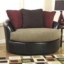 Swivel Armchairs For Living Room Unusual Round Swivel Living Room Chair Wedge Modern Swivel