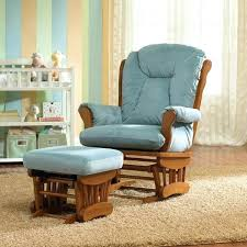 Glider Recliner With Ottoman For Nursery Fantastic Nursery Chair And Ottoman Custom Fabric Nursery Wooden