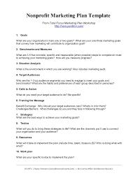 nonprofit marketing plan template summary by kivi leroux miller
