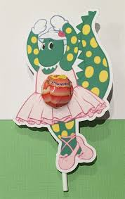 personalised dorothy dinosaur wiggles birthday party invitation