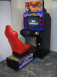 sit down arcade cabinet mario kart 2 single sit down arcade driving game