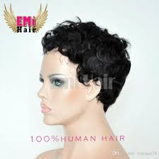 short hairstyle wigs for black women brazilian bob cut human hair wigs blended bob short cut wigs curly