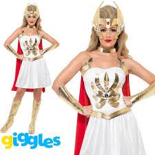 ladies licensed she ra fancy dress costume womens she ra by