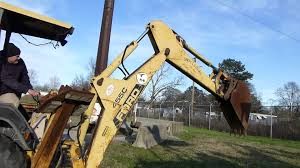 ford 455c backhoe tag 47488 youtube