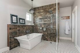 farmhouse style bathrooms chic farmhouse industrial style bathrooms in new custom home