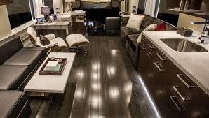Motorhome Custom Interiors Featherlite Coaches Luxury Prevost Conversions U0026 Motorhomes