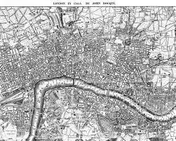 Princeton Map Hogarth U0027s London Sin U0026 The City