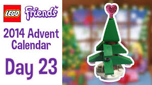 lego friends 2014 advent calendar day 23 a tree